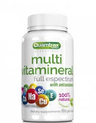 Multi Vitamineral 60 капсул (Quamtrax)