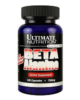 Beta Alanine 750 мг 100 капс (Ultimate Nutrition)
