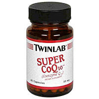 Co-Q10 Super 50 mg - 60 капсул (Twinlab)