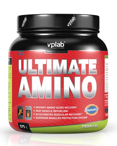 Ultimate Amino 375 г (VP Lab) фото 3