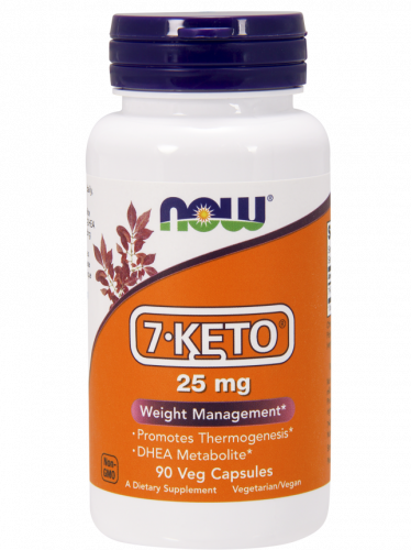 (NOW) 7-KETO 25mg 90 капс
