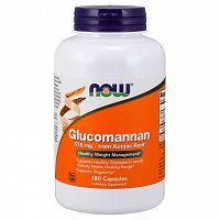 Glucomannan 575 mg - 180 капсул (Now Foods)